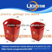Plastique supermarché panier moule moule moule d'injection dans taizhou Zhejiang Chine