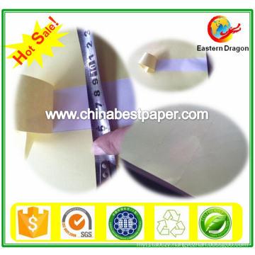 White Crack Back Adhesive Paper