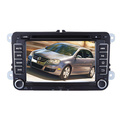 Quad Core Android 4.4.4 Car DVD 2DIN Double DIN Fit for VW Skoda Bora Jetta Golf Touran Seat Cc Polo Golf5 Golf6 GPS Navigation Audio Video Player