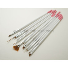 Beauty Products of Long White Handle Nail Brush