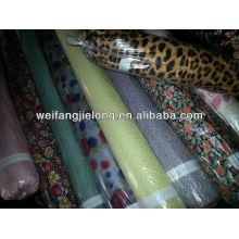 100% viscose spun rayon fabric stock