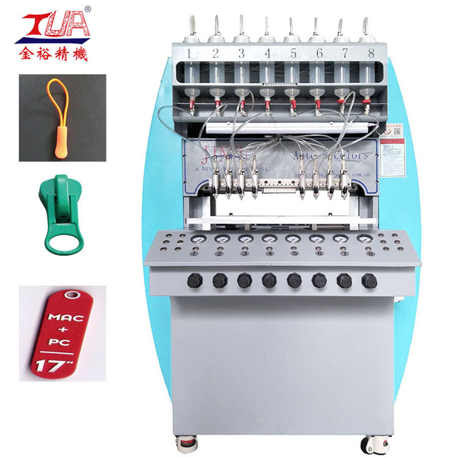 zipper puller dispensing machine