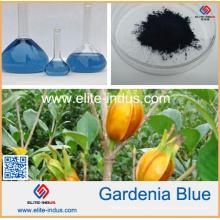 Pigment bleu clair de Gardenia de couleur bleue de nourriture normale de 100%
