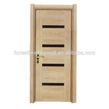 Меламин Крытый Конструкция Деревянной Двери