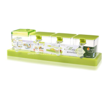 Plastic Seasoning Box Set for Kitchen