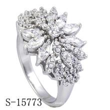 Nova moda jóias 925 anel de prata esterlina