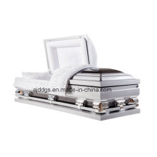 Silver and Black Casket (Oversize)