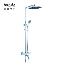 Pancuran mandian bilik mandi tembaga thermostatic shower faucet