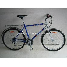 """Bicicleta de montaña con marco de acero de 26 """"(MGN2601)"""