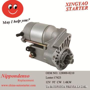 Nuevo Starter Van Previa L4 2.4L para toyota28100-76070 128000-8210 280-0120