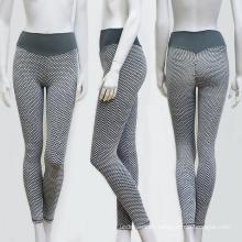High waist scrunch butt seamless fitness mesh yoga wear leggings yoga pants
