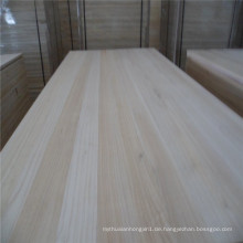 Bieten Sie maßgeschneiderte trockene Paulownia Massivholz