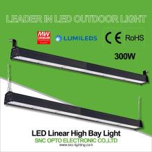 Material del cuerpo de la lámpara de la aleación de aluminio de la luz linear llevada ip66