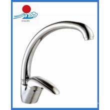 Mitigeur de cuisine monocommande Robinet d'eau en laiton (ZR21609)