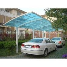 Polycarbonate car shelters