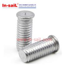 Messing-Material-Nietkopf-Punktschweiss-Schraube