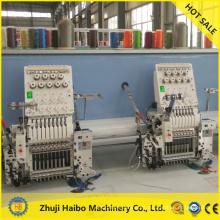 máquina del bordado del cequi con máquina de bordar de máquinas del chenille doble secuencia bordado con lentejuelas doble dispositivo
