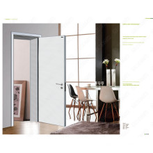 Modern Wood Bedroom Door, Meranti Wood Dubai Door, Metal Gate Designs