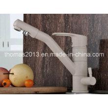 Robinets sains de cuisine de la manière 3 de luxe avec le robinet de filtre d'écoulement d'eau pure