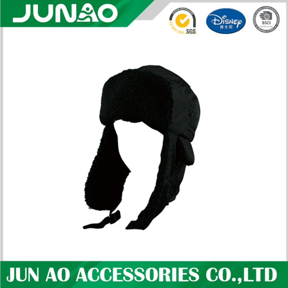 Russland Männer Custom Fake Pelz Earflap Winter Ski Trapper Hut