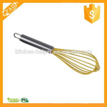 Multi-function Highly Heat Resistant Silicone Head Egg Whisk Home Kitchen Gadget Kitchen Tool