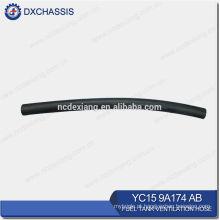 Mangueira de ventilação genuína YC15 9A174 AB do depósito de gasolina do trânsito V348