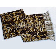 ladies' printed pashmina cashmere charm scarf