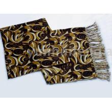 lenço de lenço de caxemira impresso pintado para senhoras