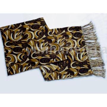 ladies' printed pashmina cashmere charm scarf