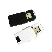 Good Quality for Oem Swivel Usb Flash Drive Best Plastic Swivel USB Stick Portable Charger supply to Jamaica Factories