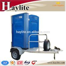 Remorque de toilette portative avec toilette pour la location et la vente