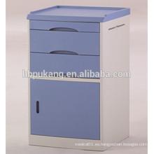 D-12 ABS material de uso hospitalario saftey cama lado locker