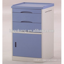 D-12 ABS material hospital use saftey bed side locker