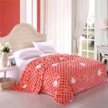Cobertor de flanela promocional de alta qualidade
