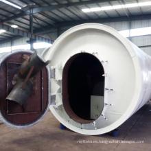 Lanning e máquina de reciclaje de residuos