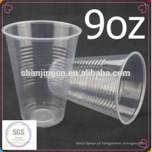 9 oz 7 oz venda quente claro barato descartável copo de plástico