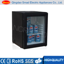 12V Glass Door Hotel Minibar Fridge