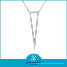 Collar de boda delicado único nuevo personalizado 2015 (N-0326)