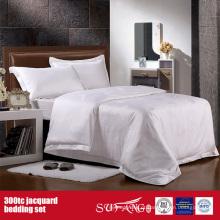 300TC Jacquard Atacado Bedding Set Hotel Bom Duvet Cover
