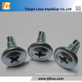 Modified Truss Head Self Drilling/Tapping Screws with Wafer Head
