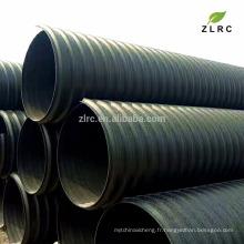 tube de prix d'usine pour l'eau pour le tuyau de HDPE de gaz