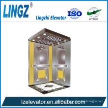Villa Elevator with Ti Gold Etching