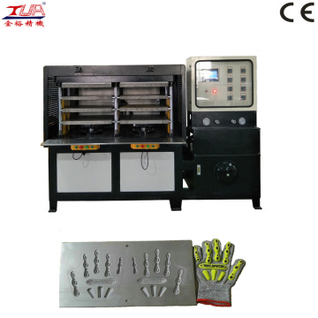 automatic kpu glove cover press machine equipment