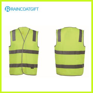 Fluorescence Men′s 100% Knitting Safety Vest