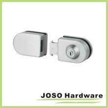 De vidrio a vidrio de aleación de zinc de ducha de cristal puerta de combinación de bloqueo (gdl004b)