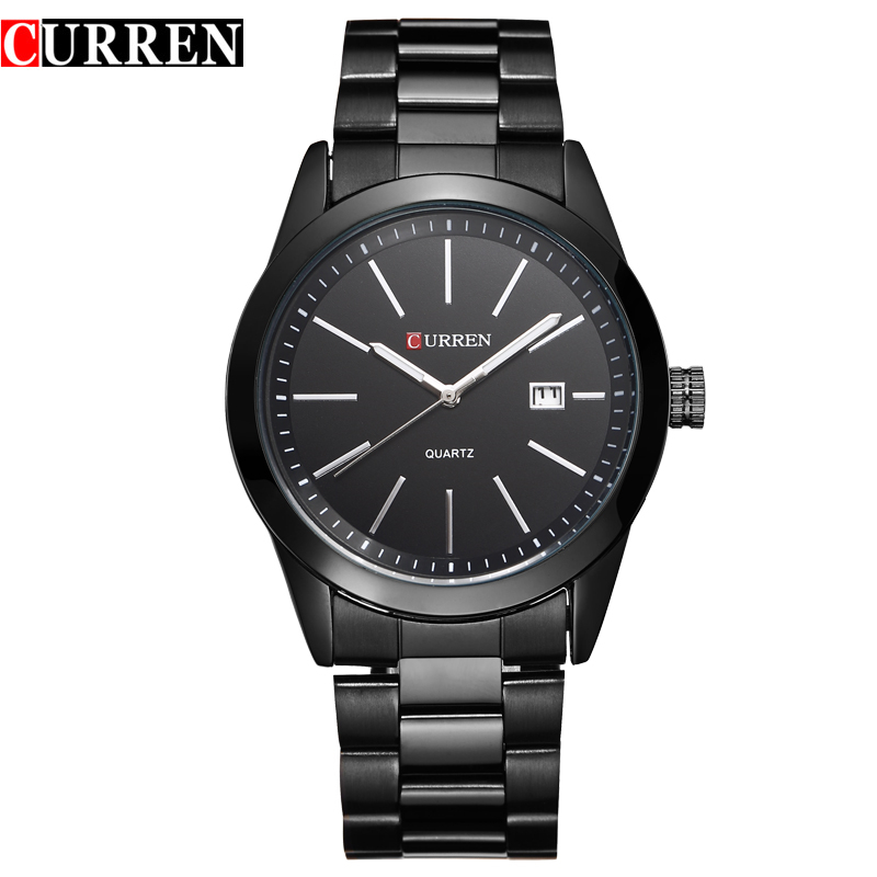 Curren Casual Business Quartz Stainless Steel Watch 3