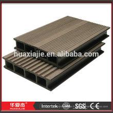 WPC (bois et composite en plastique) Plancher de plancher pour extérieur