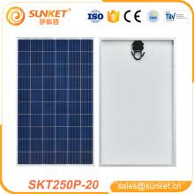 небольшая площадь поли кристаллические панели солнечных батарей 250W первый раз предлагают об