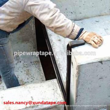 xunda tira autoadhesiva del sello de goma butílica para las losas de cemento