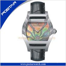 Relógio quente popular da forma das senhoras da venda